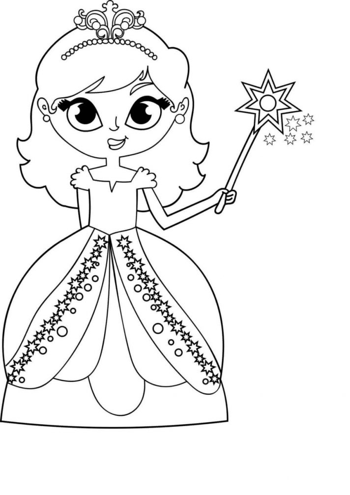 printable coloring pages for kids girls