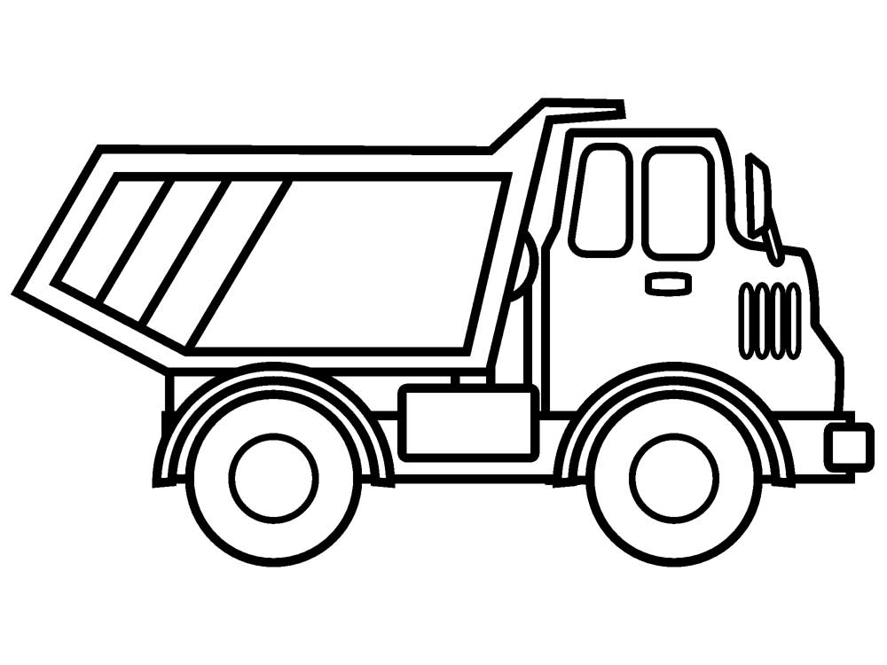 construction vehicles coloring pages worksheet