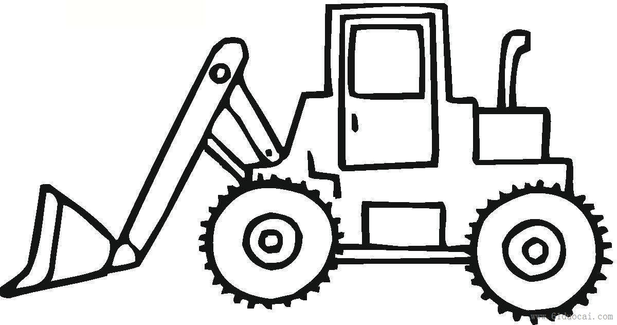 printable construction vehicles coloring pages
