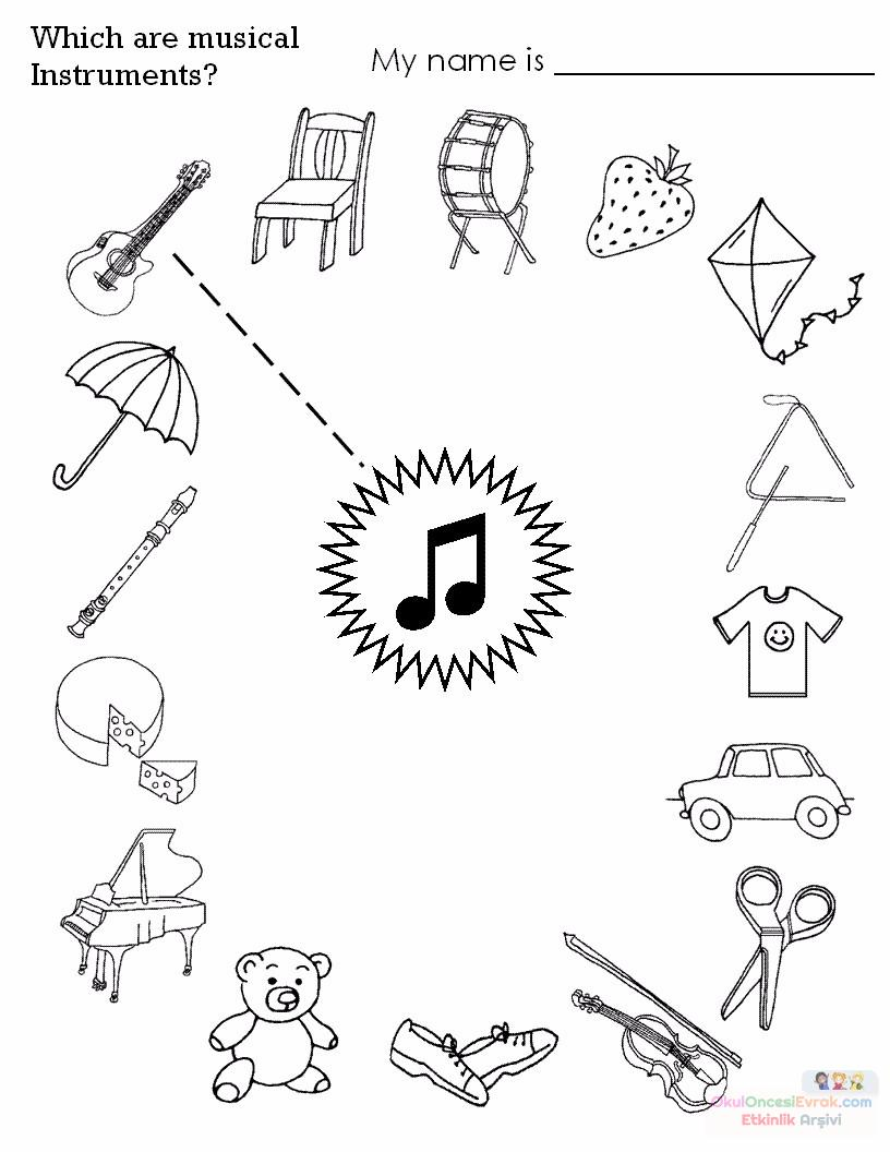 easy fun music worksheets