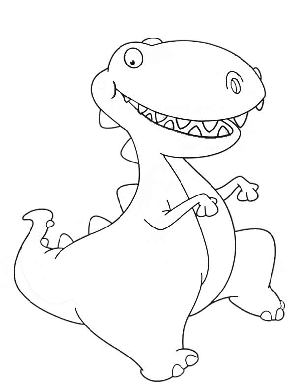Dinousaur Coloring Pages