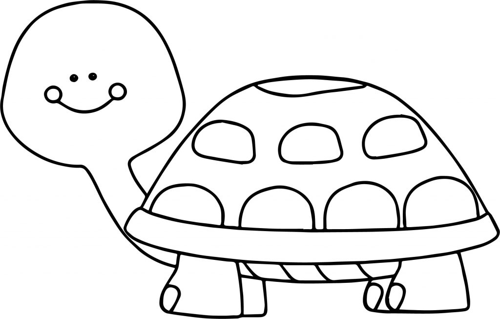 cute turtle coloring pages
