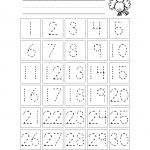 learning numbers worksheets for kids