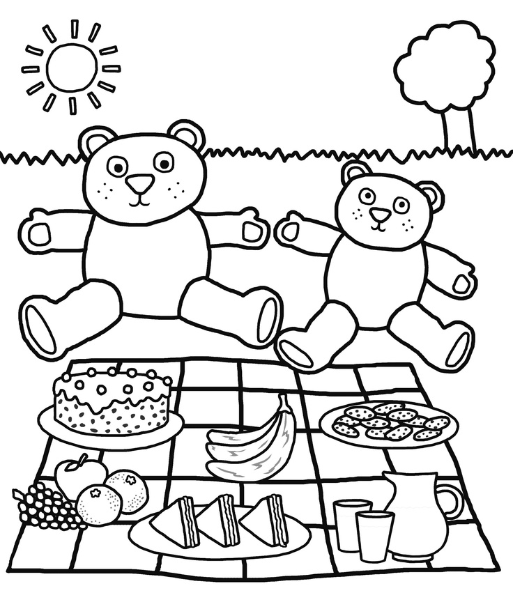 cute summer printable coloring pages