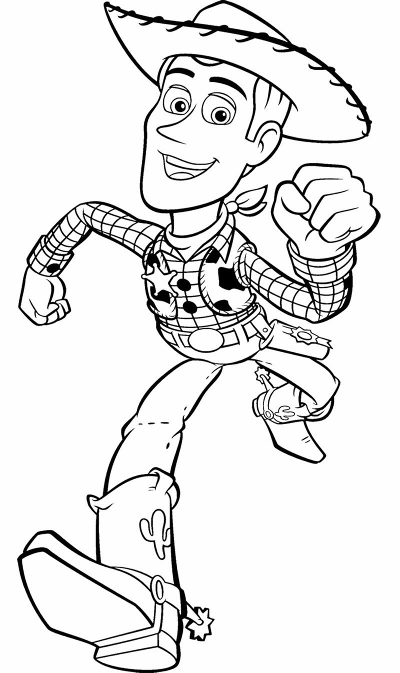 toy story coloring page
